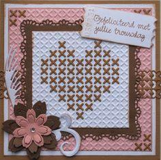 Cross Stitch Heart, Cross Stitch Cards, Cross Stitching, 3d Cards, Cute Cards, Embroidery Cards, Cross Stitch Kitchen, Marianne Design, Love Valentines