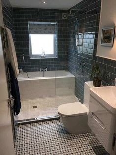 bathroom ideas bathroom remodel bathroom remodeling bathroom decor bathroom remodel ideas bathroom designs bathroom remodel small small bathroom remodel home remodeling bathroom design ideas bathroom renovations small bathroom designs Bathroom Renos, Budget Bathroom, Bathroom Remodelling, Bathroom Plans, Small Wet Room, Small Tub, Small Baths, Wet Room With Bath, Small Laundry