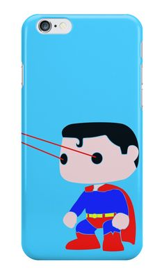 """Superman Pop Inspired Art"" iPhone Cases & Skins by adesigngeek 