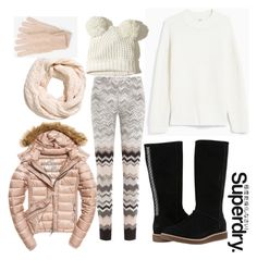 """The Cover Up – Jackets by Superdry: Contest Entry"" by amber-lanehart ❤ liked on Polyvore featuring Ganni, Missoni, Fuji, UGG, Hollister Co., White House Black Market, Superdry and MySuperdry"