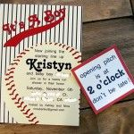 baseball invites available on Etsy - they customize it then email it to you to download & print.