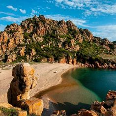 Cala Li Cossi Costa Paradiso Sardinia Islands Italy Sardaigne