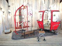 Discover recipes, home ideas, style inspiration and other ideas to try. Décor Ski, Ski Lift Chair, Ski Bar, Ski Wedding, Ward Christmas Party, Decoration Evenementielle, Design Campaign, Stations De Ski, Ski Decor