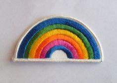 thegolddig:  Vintage Rainbow Patch (more information, more gold)