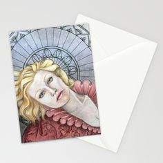Luxe Stationery Cards by Warm Honey | Society6