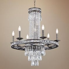 "Crystorama Mercer Collection 27"" Wide Chandelier"