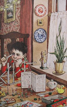 "Trina Schart Hyman, from ""A Child's Christmas in Wales"""