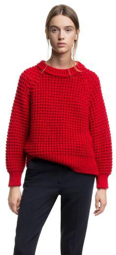 JERSEYS PUNTO jersey rojo amplio   ROJO