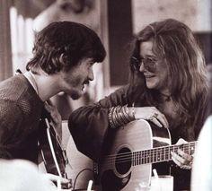 Rick Danko and Janis Joplin
