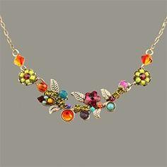 Firefly Wedding Flower Necklace - One
