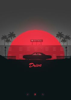 DRIVE - Poster Spy More Series of Ryan Gosling poster designs inspired by his movies, Mbdsgns Film Poster Design, Movie Poster Art, Poster S, Poster Designs, Minimal Movie Posters, Cinema Posters, Cool Posters, Drive Poster, Drive 2011