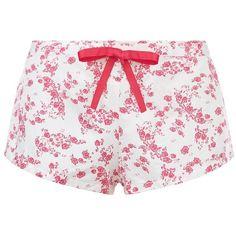 Heidi Klum Intimates Sun Kissed Pyjama Shorts ($37) ❤ liked on Polyvore featuring intimates, sleepwear and pajamas