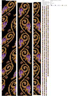Bead Crochet Patterns, Beading Patterns, Beaded Crochet, Kandi, Seed Beads, Bangles, Handmade, Jewelry, Beadwork