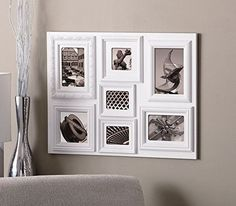 7-Opening Collage Picture Photo Frame Multi-Profile In White Wall Home Decor | Home & Garden, Home Décor, Frames | eBay!