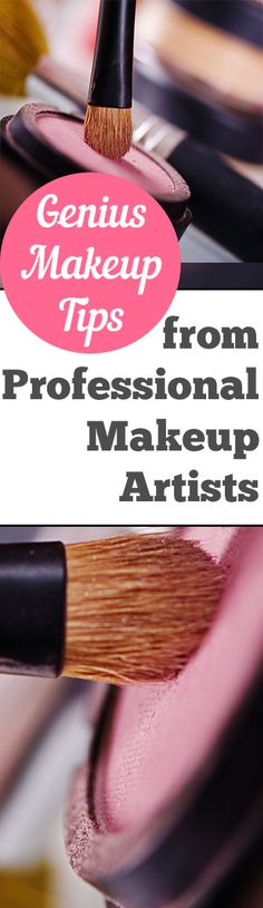 Genius Makeup Tips from Professional Makeup Artists. Natural, DIY, natural remedies, natural remedies, health and beauty, DIY makeup.