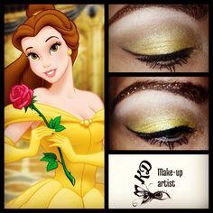 Disney eyes #makeup #princess