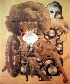 The Beautiful Girl, Hannah Höch. Hannah Höch, a German Dada artist best known for her work of the Weimar period, born in Read more about her life on Today in Women's History. Dada Collage, Art Du Collage, Collage Artists, Collages, Photomontage, Hannah Hoch Collage, Hannah Höch, Raoul Hausmann, John Heartfield