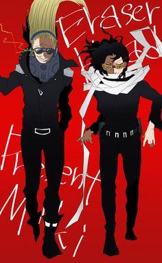 Present Mic and Aizawa