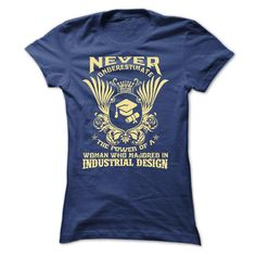 799aa885b (Tshirt Discount) Never Underestimate the power of a woman who majored in…  Swag