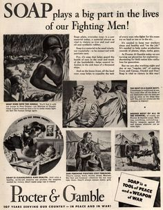 Procter & Gamble soap (WWII)