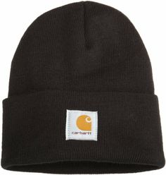Amazon.com: Carhartt Men's Acrylic Watch Hat, Coal Heather, One Size: Clothing