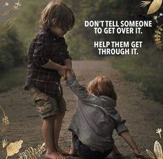 """☆ Positive Motivational Quotes( Agree with this - """"Don't tell someone to get over it… 」 Good Life Quotes, Wisdom Quotes, Words Quotes, Life Is Good, Tough Times Quotes, Daily Quotes, Positive Quotes, Motivational Quotes, Inspirational Quotes"""