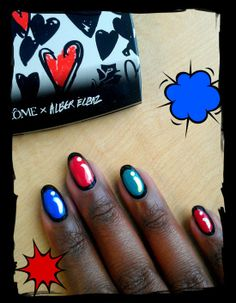 I love this look from @Sephora's #TheBeautyBoard: http://gallery.sephora.com/photo/cartoon-nails-989