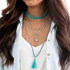 Tassel Convertible Necklace + Bracelet | Chloe + Isabel  @soulereport