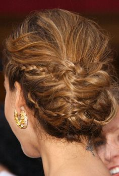 The braided bun