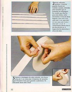 .Ana Mimos: Como fazer caixa redonda de cartonagem