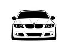Andreea Raducan Shop | Redbubble E46 Touring, Bmw Motors, Diy Leather Bracelet, Car Drawings, Bmw E46, Race Cars, Badge, Classic T Shirts, Football