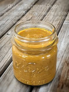 Golden Turmeric Paste (great for inflammation bloating gas joints and so muc Turmeric Paste, Turmeric Drink, Turmeric Health, Turmeric Recipes, Turmeric Root, Organic Turmeric, Tumeric Paste Recipe, Juicer Recipes, Raw Food Recipes