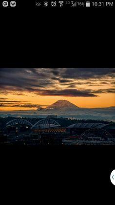 Sunrise in Seattle,  Jan 2015