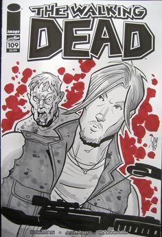 Daryl Dixon - The Walking Dead - Cal Slayton