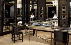 A corner of the Fine Jewelry Salon.