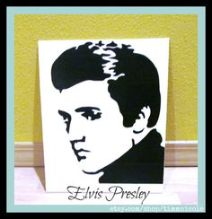 Elvis Presley Duct Tape Art by TimmNicole on Etsy, $35.00