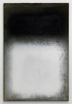 "studiomarcbijl: ""Afterburner (after Rothko) cement spraypaint on canvas, Marc Bijl, 2012 """