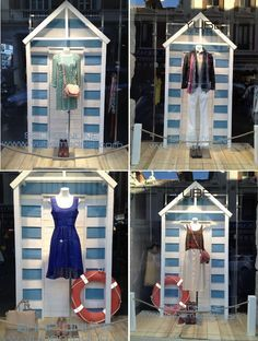 beach themed boutique windows - Google Search