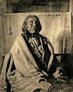 Red Cloud - (Maȟpíya Lúta) Oglala Lakota.