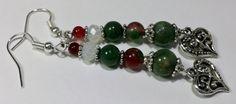 Gemstone Dangle earrings. Dangle earrings by B4Jjewelrydesigns