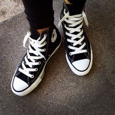 High top Converse - mine as of today :)