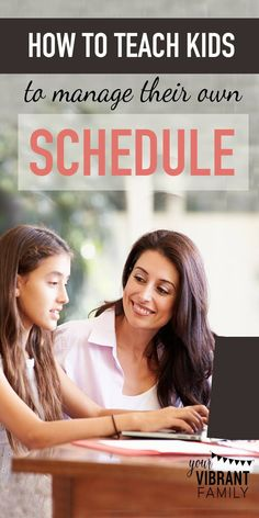 Little by little, we need to introduce our kids to the concepts of goal-setting, time management and self control. What better way to do that than to teach them how to create a realistic weekly schedule? Learn a step-by-step method for how your kids can create their own schedules! This scheduling method is easy and adaptable to fit any child, tween or teen!