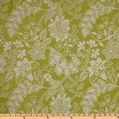 Waverly Garden Flurry Jacquard Honeydew - Discount Designer Fabric - Fabric.com