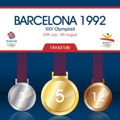 Team GB's complete medal count for the 1992 Barcelona Olympic games