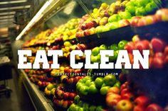 YES. eating clean is key to a beautiful body.