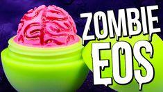 DIY Zombie Brain EOS ♥ Halloween Lip Balm!
