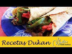 Adelgazar: Burritos Dukan de Ternera (fase Crucero) / Low Carb Beef Burritos - YouTube