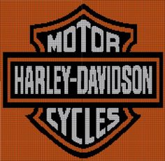 Free Harley Davidson Crochet Afghan Pattern : 1000+ images about Crochet By Numbers on Pinterest Filet ...