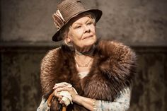 Judi Dench as Alice Liddell Hargreaves in Peter And Alice