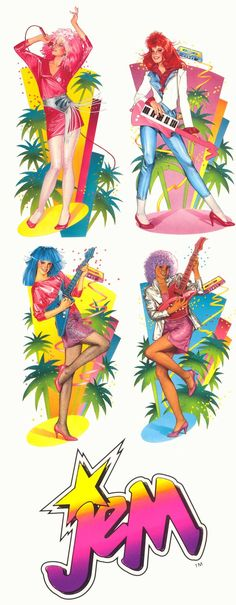 scans_daily | First glimpe of new Jem and the Holograms comic from IDW